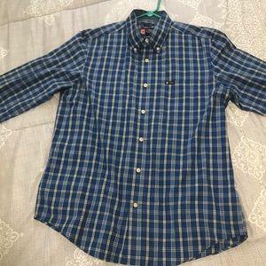 Medium Chaps long sleeve button up men's shirt.